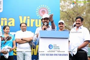 Corona Virus Awareness Walk at KBR Park