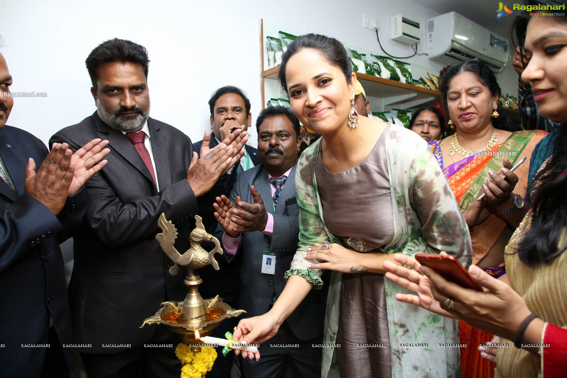 Country Mall Launch by Anasuya at Khairtabad