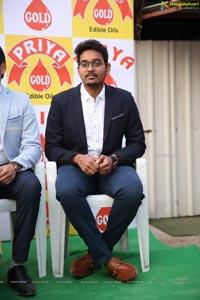Kajal Agarwal as Brand Ambassador for Priya Gold Oils