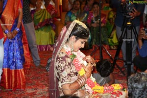 Producer Lakshman's son Ujwal and Manisha's Wedding