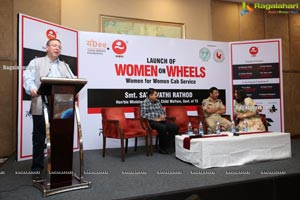 Hyderabad's first Women for Women Cab Service