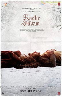 Radhe Shyam Release Date Poster, English