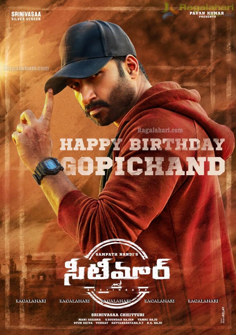 Gopichand Birthday Poster