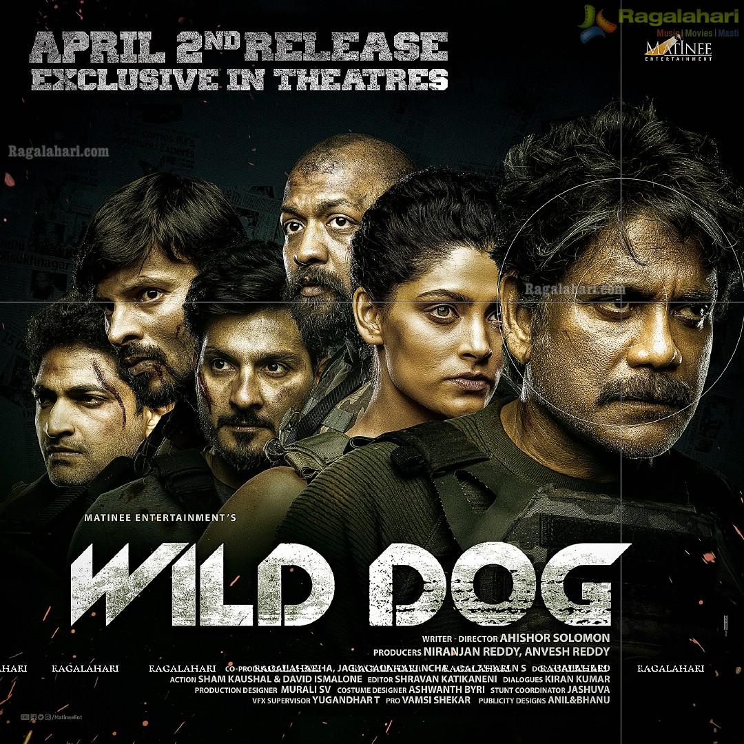 Wild Dog Movie Release Date Poster