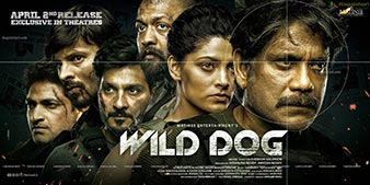 Nagarjuna Wild Dog Movie Release Date Wide Poster