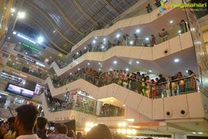 Chaavu Kaburu Challaga Promotional Tour at CMR Central Mall