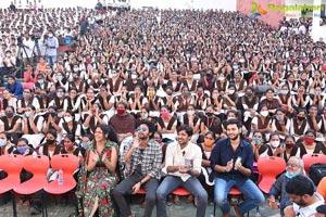 Jathi Ratnalu Movie Team at VVIT College Guntur