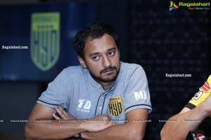 Indian Super League Club Hyderabad FC Press Meet