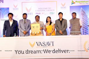 Vasavi Group Launches Three Prestigious Real Estate Projects