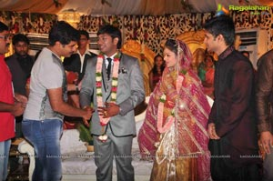 Hero Nikhil's Sister Wedding Photos