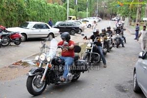 No Tobacco Harley Davidson Motorbike Ralley