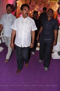 Sujith Spoorthi Wedding Reception