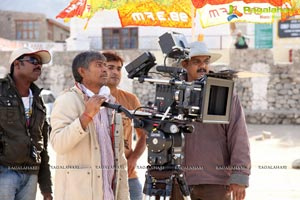 Saahasam Working Stills