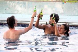 Aqua Pool Party Photos