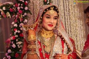 Wajid Khaleel-Zara Afreen Nikah