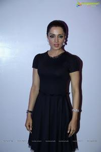 Celina Jaitly in Black Dress