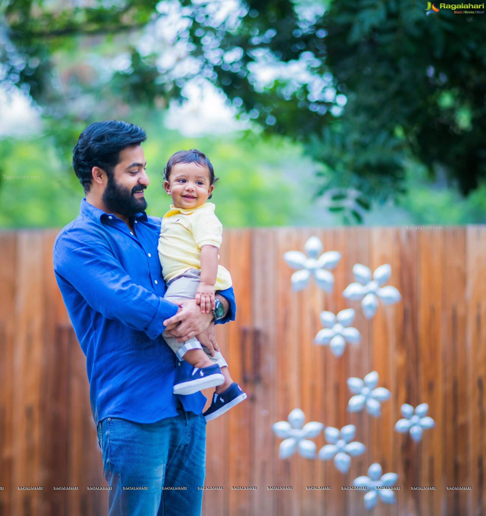 NTR's Son Abhay Ram (High Definition)