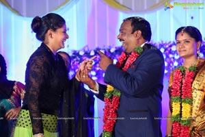 Harinath Krishnaveni Wedding Reception