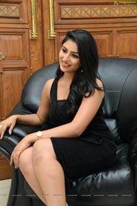 Kruthika Jayakumar in Black Dress
