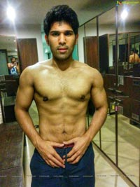 Allu Sirish Six Pack