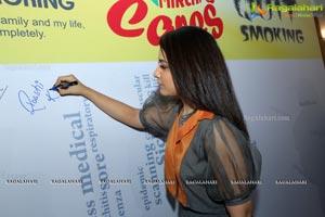 Raashi Khanna Quit Smoking