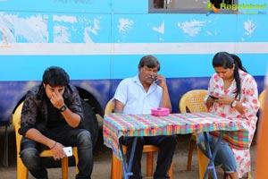 Nakshatram Working Stills
