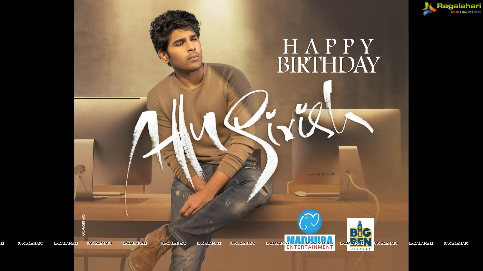 Allu Sirish ABCD Birthday Poster