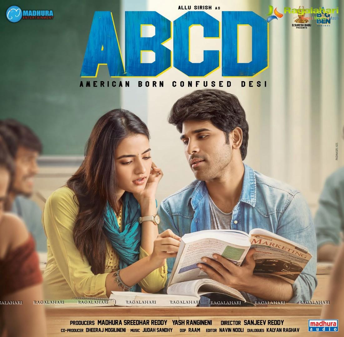 Allu Sirish ABCD(American Born Confused Desi) Poster