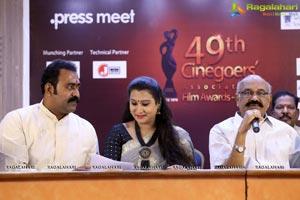 Cinegoers' 49th Film Awards Press Meet