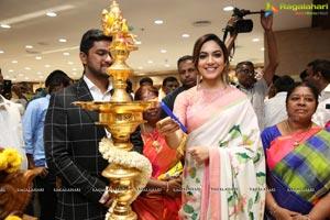 In Pics - Ritu Varma launches Chennai Silks, Mehdipatnam
