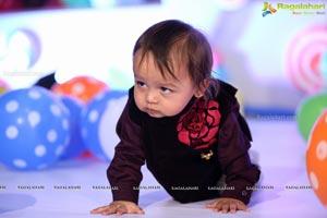Yuvaan Agarwal First Birthday
