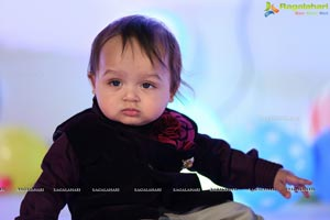 Yuvaan Agarwal First Birthday