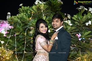 Vishnu Shashank Goud & Rekha Goud Wedding Reception