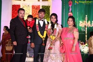 Vishnu Shashank Goud & Rekha Goud Wedding Reception