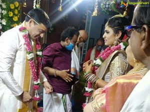 Dil Raju and Vygha Reddy's Wedding Photos