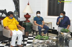 Industry Bigwigs Met at Chiranjeevi's House