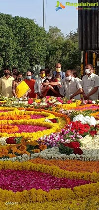 Nandamuri Family Pays Tribute To NTR