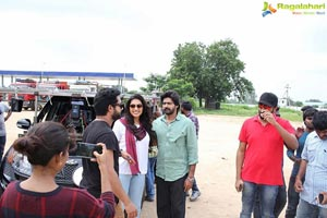 Bhanumathi Ramakrishna On Location Pics