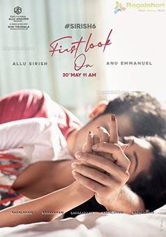 Allu Sirish-Anu Emmanuel's Movie Pre-Look Poster