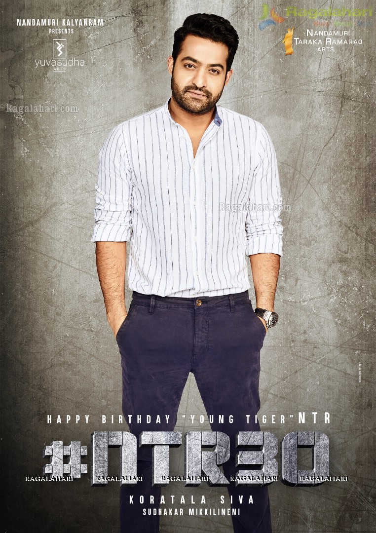 Jr NTR Birthday Wishes Poster Design From NTR30
