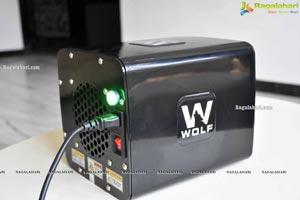 Archana Veda unveils Wolf Air Mask