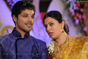 Geetha Madhuri Nandu Engagement Photos