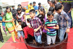 Grape Stomping @ The Square Hyderabad