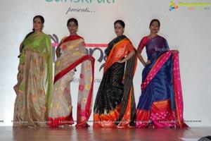 Gaurang Shah Paanchali Hyderabad Fashion Show
