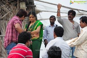 Madhumathi Working Stills