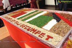 Cake Mixing Ceremony Taj Vivanta Hyderabad