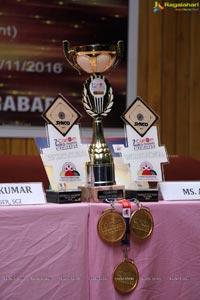 World Champion in Carrom 2016 S Apoorwa