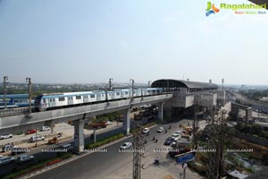 Hyderabad Metro Rail Trail Run