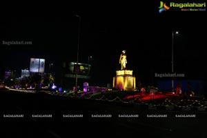 Hyderabad Ivanka Lighting Show