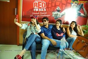 Husharu Team at Radio Station Red FM Rajahmundry